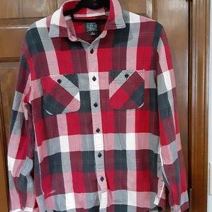 J. Crew men flannel shirt